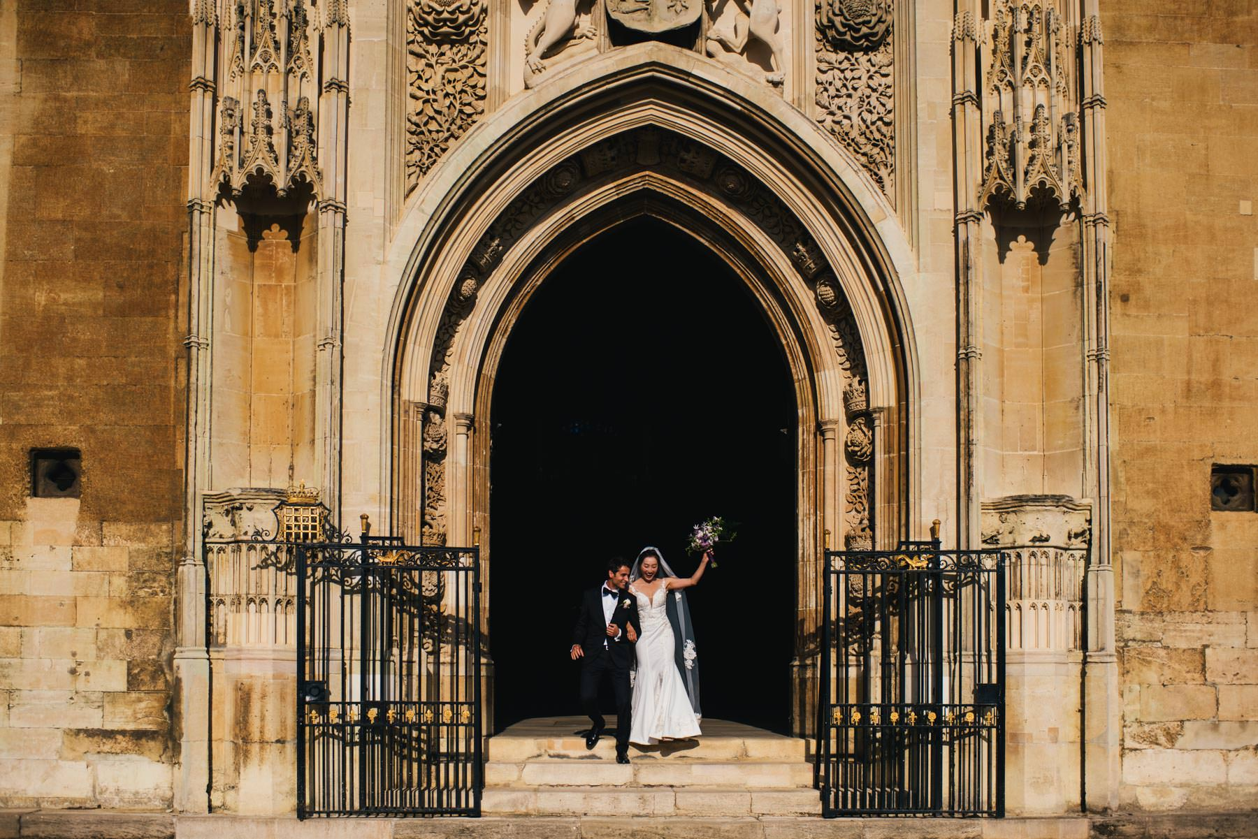 Kings College Wedding
