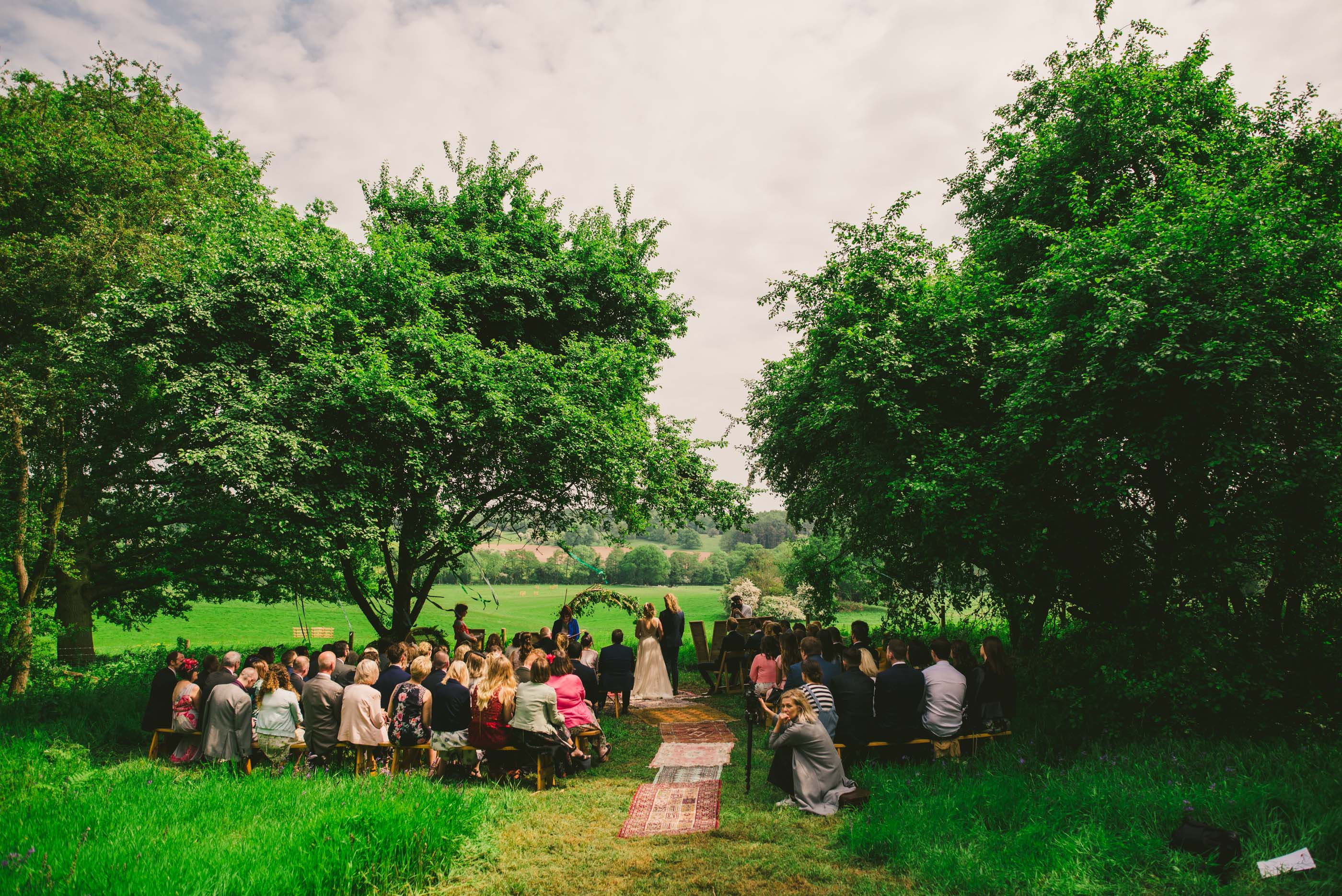 Field and Forest Wedding