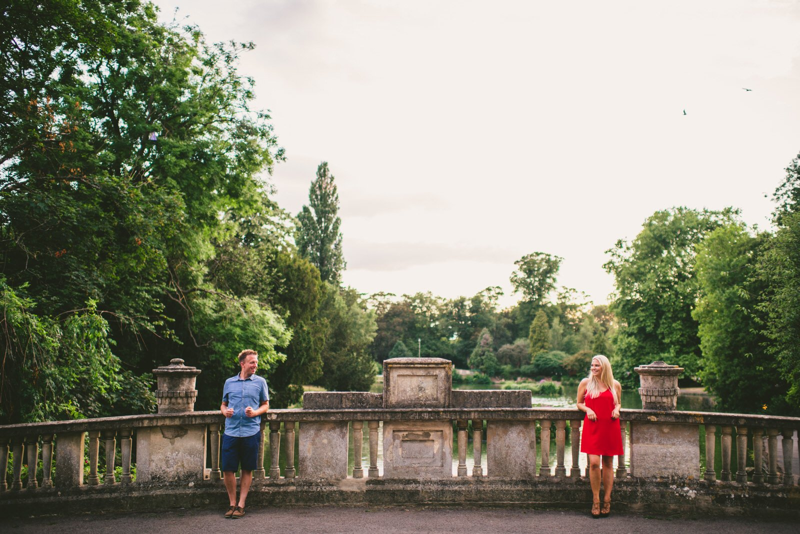 Pittville Engagement shoot