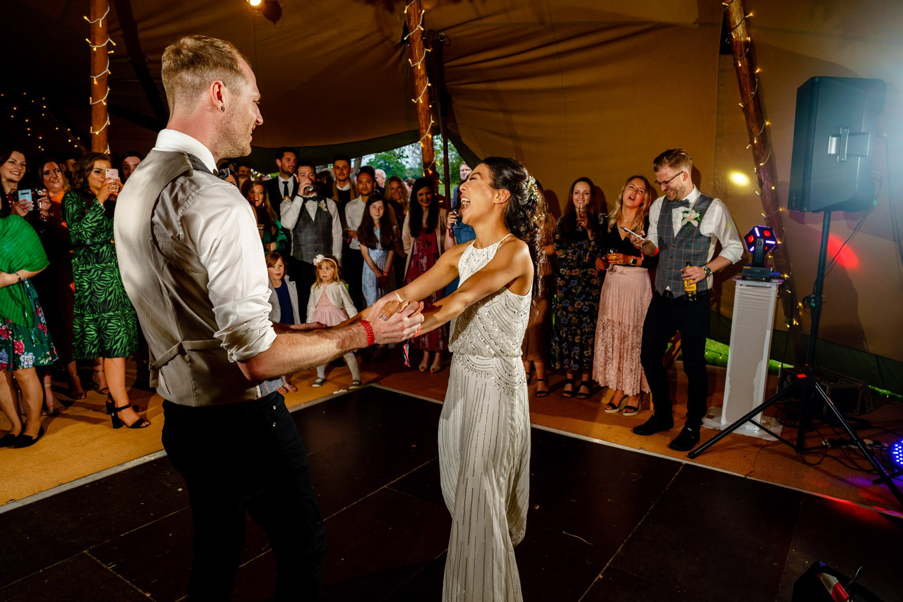 Tipi Festival Wedding