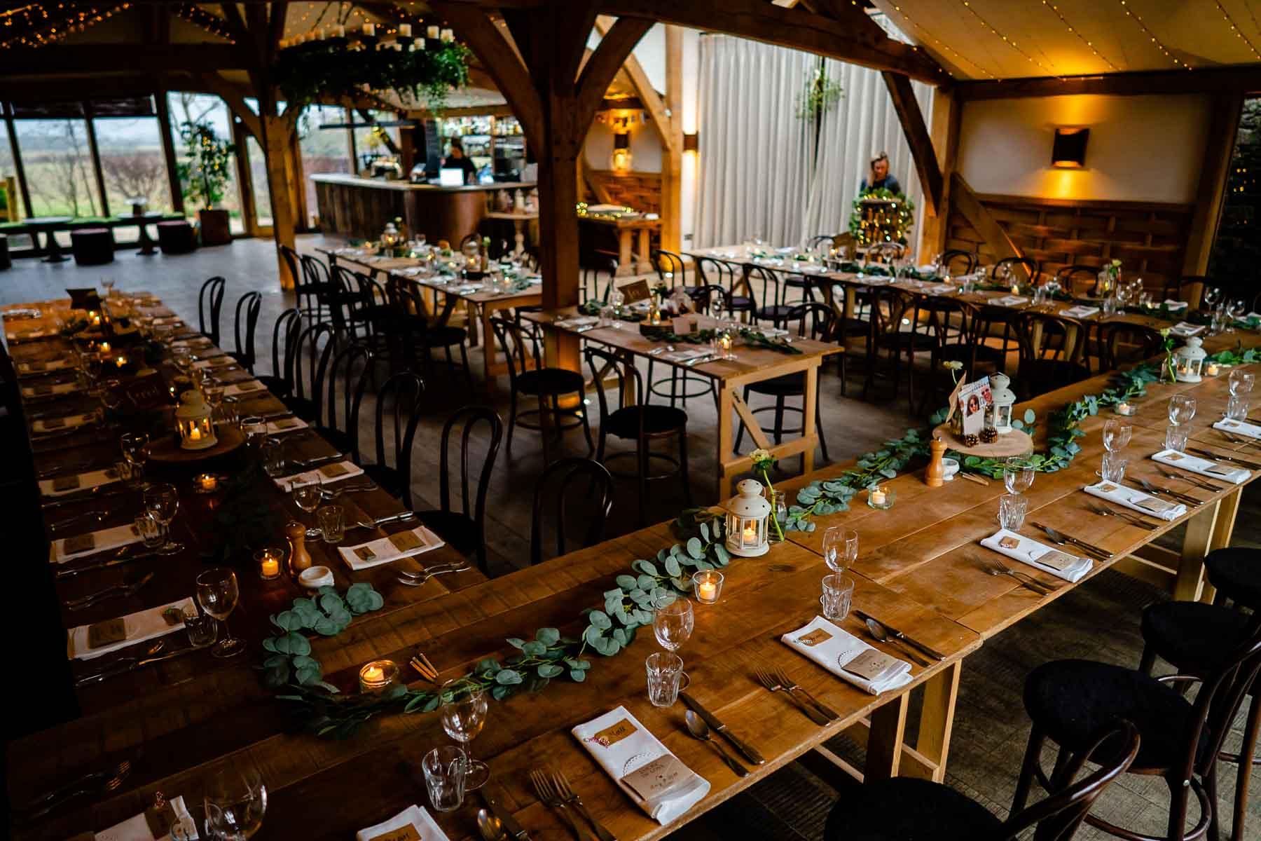 Cribbs Barn wedding