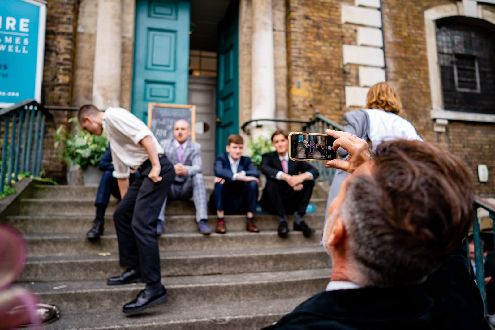 The Crypt on the Green Wedding